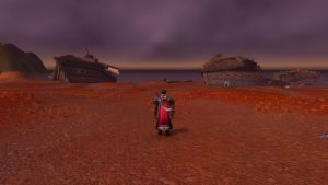 Worgen Ship Crash Site